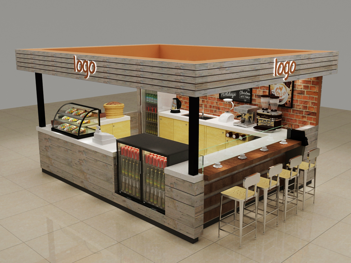 fast food display
