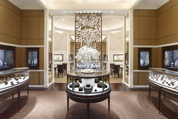Jewelry Retail Shop Display Fixtures & Showcases