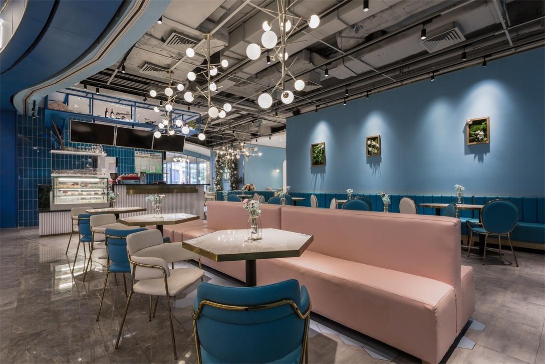 bubble tea store interior design