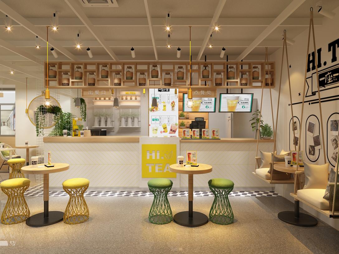 Bubble tea shop furniture