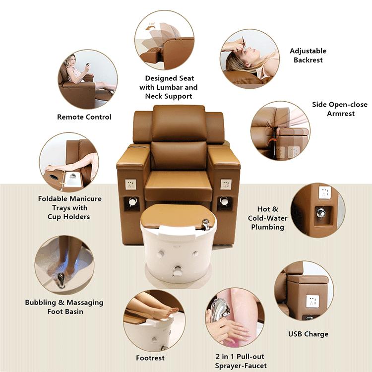 Salon Beauty Foot Chair