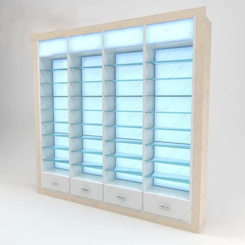 wall madecine display cabinet