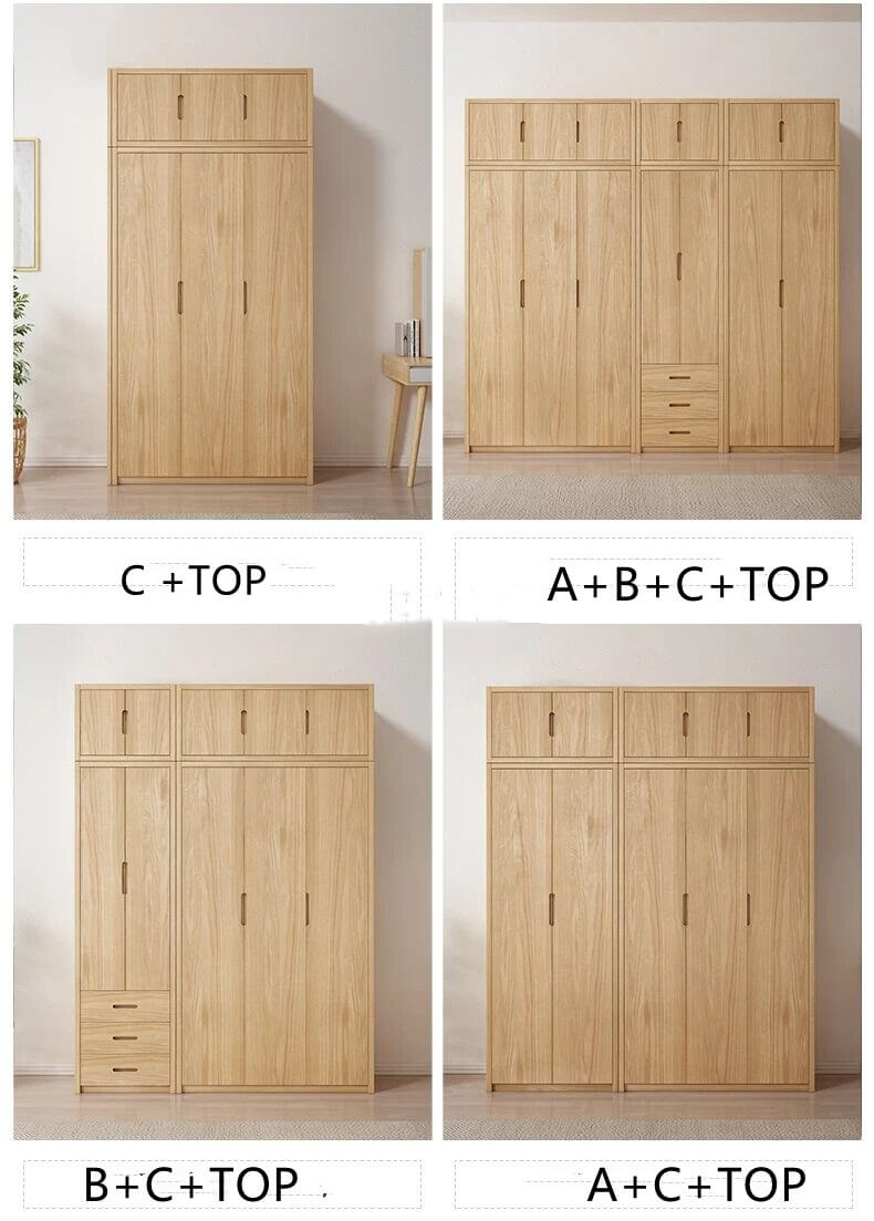 different clothing display cabinet