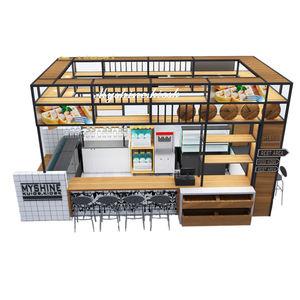 crepe waffle kiosk
