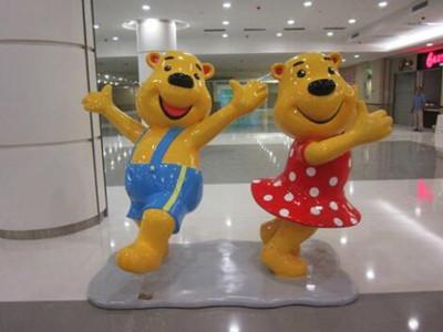 fiberglass cartoon statues