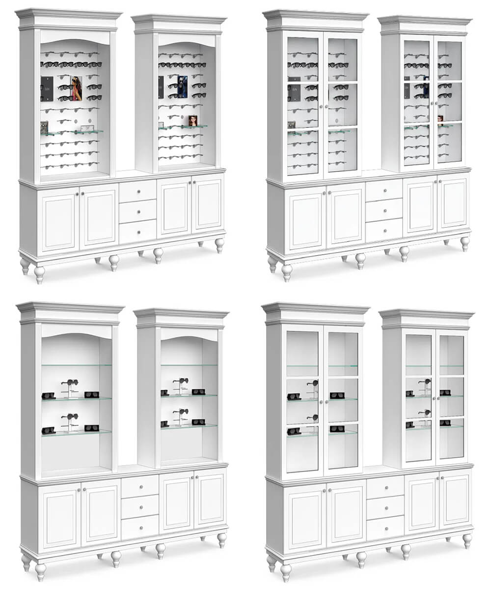 optical dsiplay cabinet