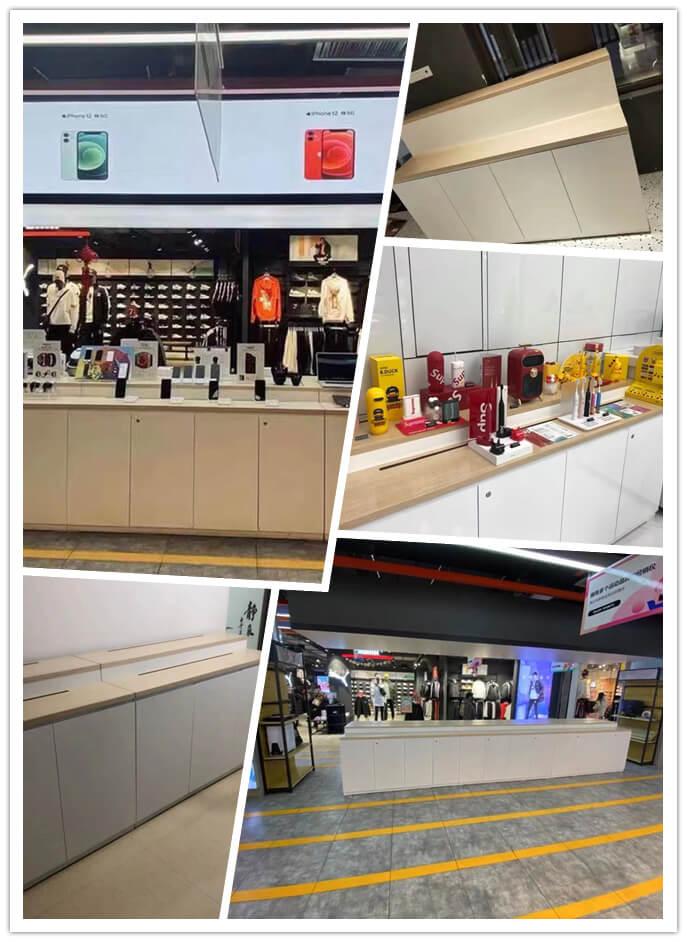 retail display desk