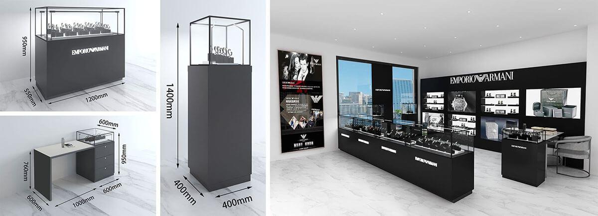 Amani Watch Shop Design