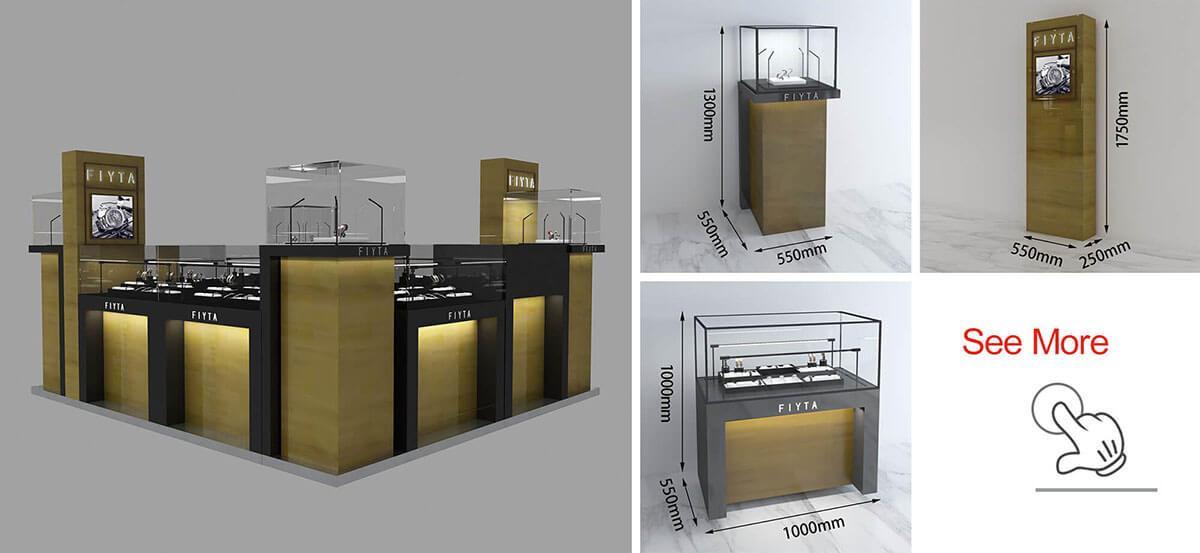 FIYTA Watch Kiosk Shop For Indoor