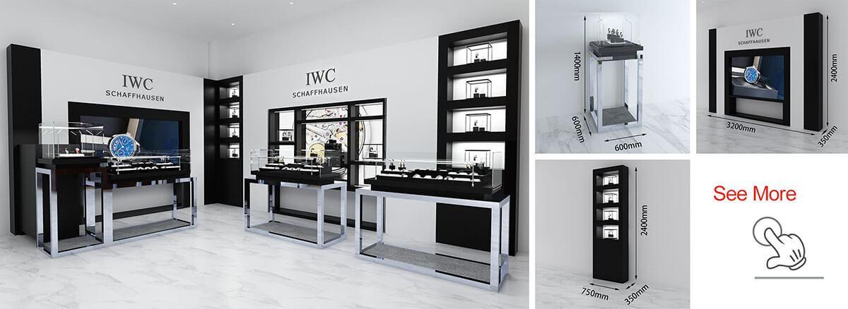IWC watch shop fixtures