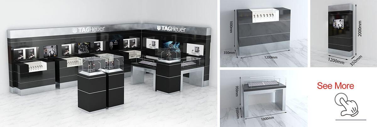TGA watch shop decor design
