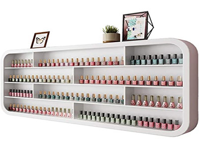 wall-mouted makeup display cabinet