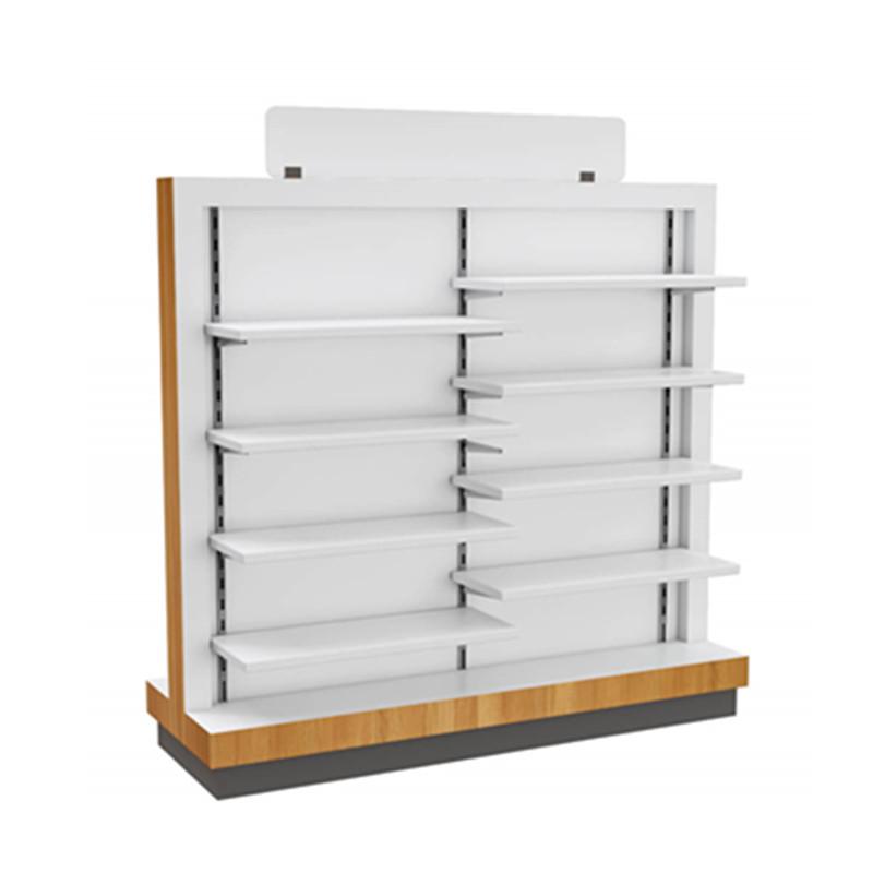 double side display shelf