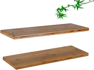 wooden display shelf