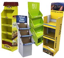 cardboard display fixtures