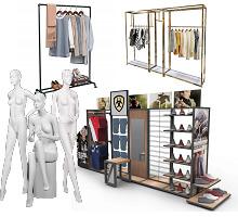 cloting racks & store fixtures