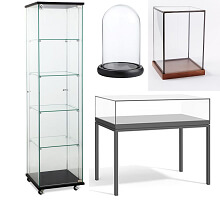 glass display fixtures