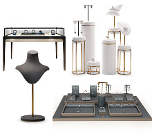 jewelry store display fittings