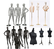 mannequins & body forms