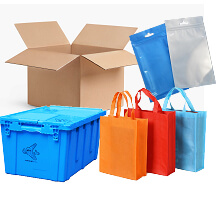 packing bags box