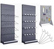 pegboard display racks & hooks