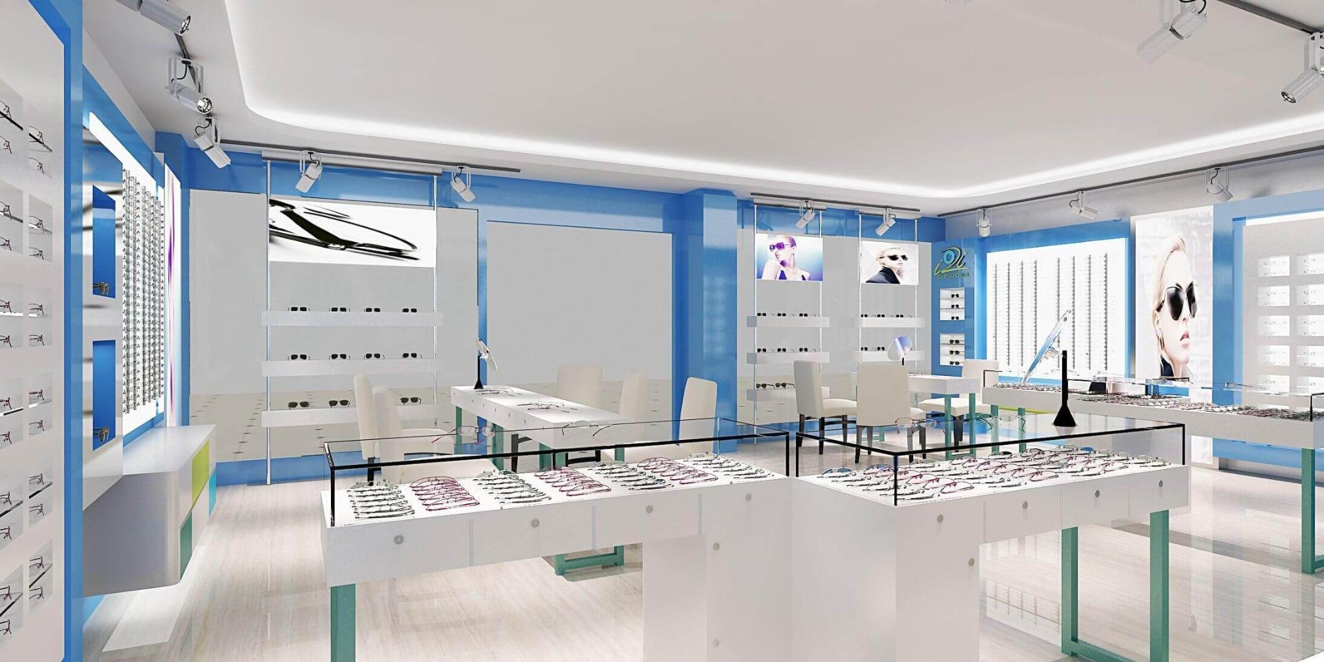 glasses shop design