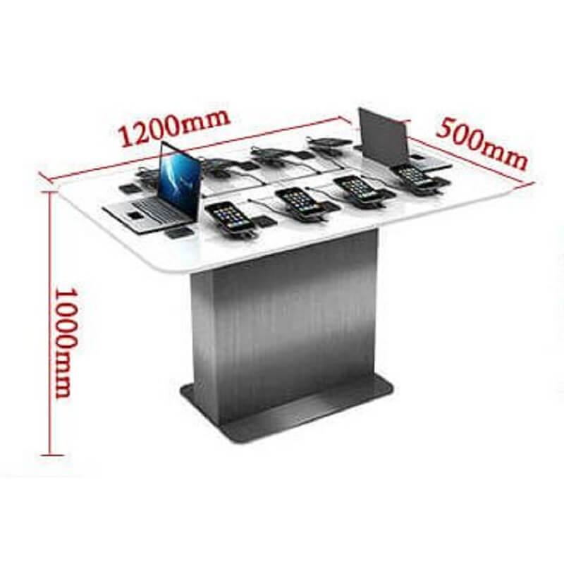 Mobile phone display table