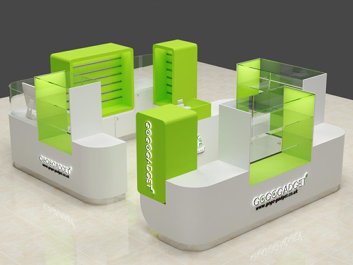 gadget display kiosk