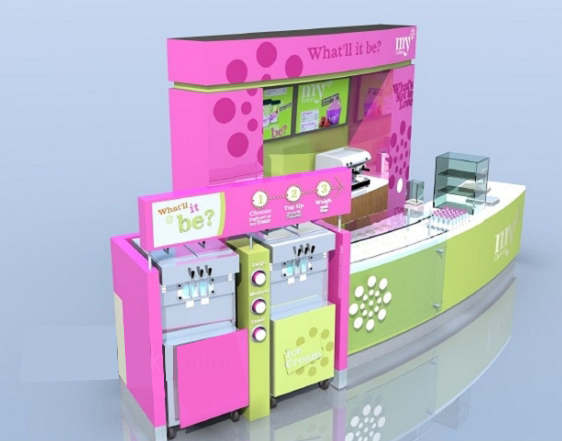 yogurt kiosk